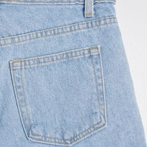 American Apparel Shorts - American Apparel Light Wash Denim Cutoff Shorts
